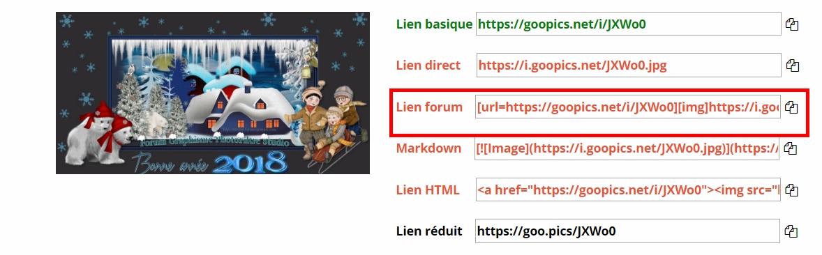 Tutoriel pour héberger une image dans le forum Lien10