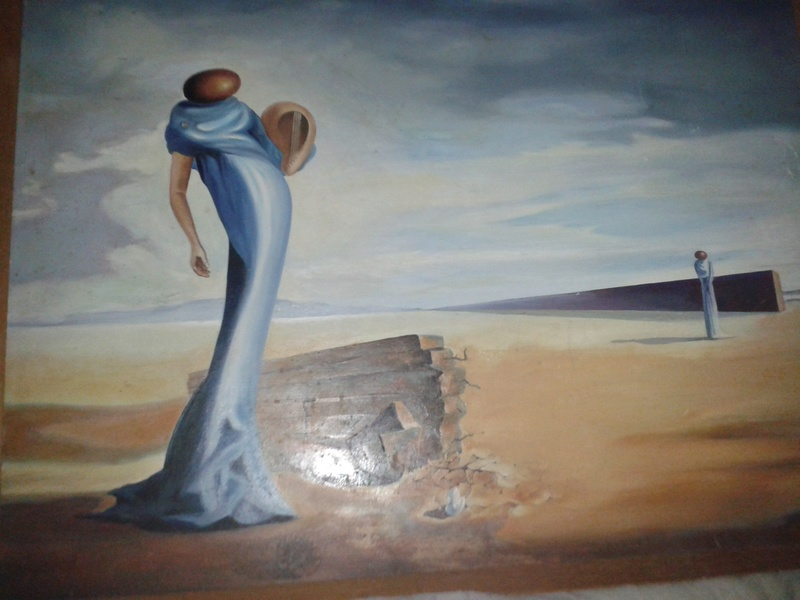 1960s Surrealist artist R M Saunders - appeal for information 20171025