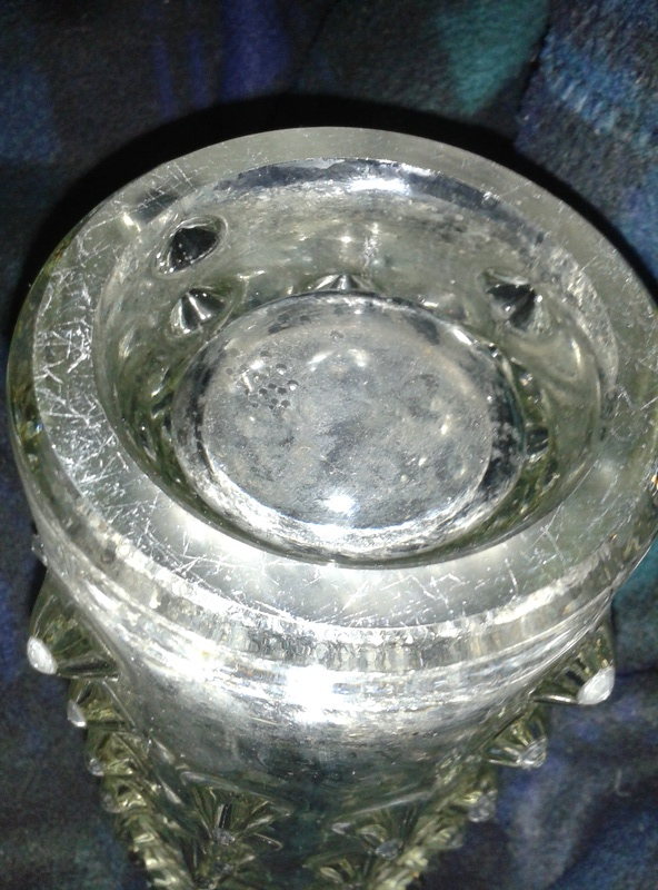 Spiky Clear Vase 20180115