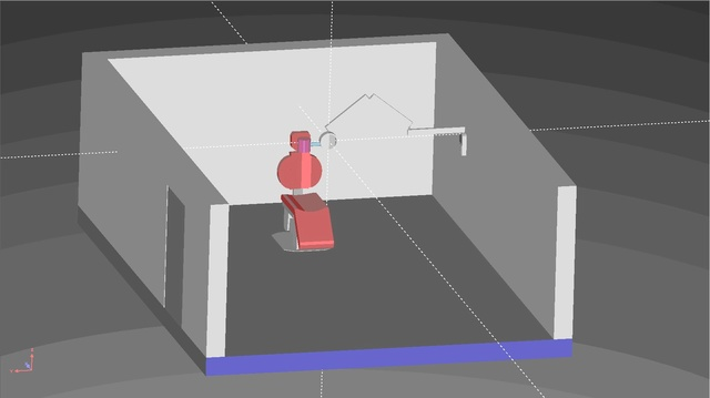 Code Monte Carlo 3D RayXpert Salle_10