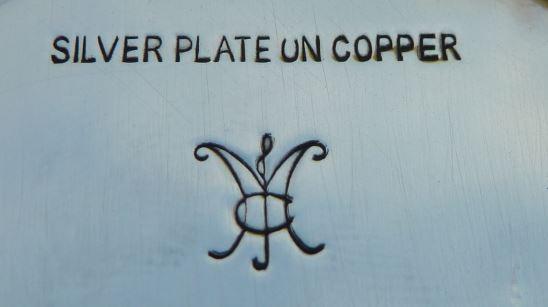 Welsh Silver Plate goblet - maker ID sought  (MJC or JMC?) Goblet10