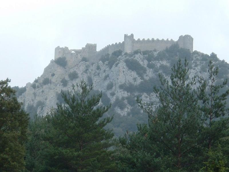 Citadelle Cathare Peyrepertuse - vision panoramique [du côté de chez nous] 55172210