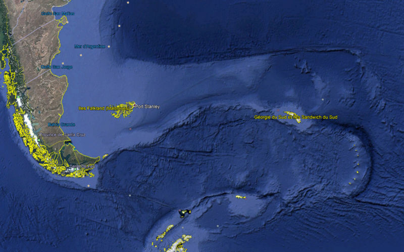 Ile Bristol - Iles Sandwich du sud - Atlantique Sud Bristo11