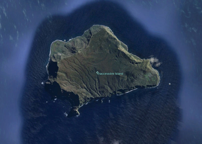 L'île Inaccessible- archipel Tristan da Cunha -Océan Atlantique Innacc10
