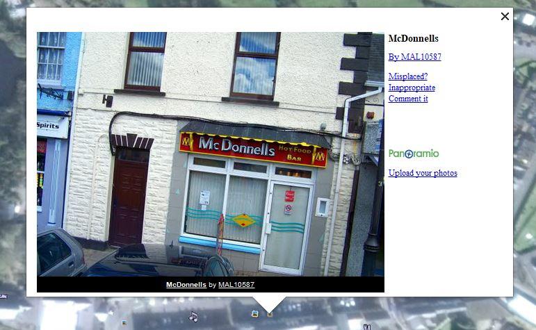 STREET VIEW : les façades de magasins (Monde) - Page 11 Mcdo_n10