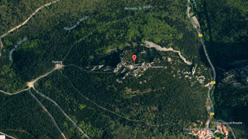 Citadelle Cathare Peyrepertuse - vision panoramique [du côté de chez nous] Puilau10