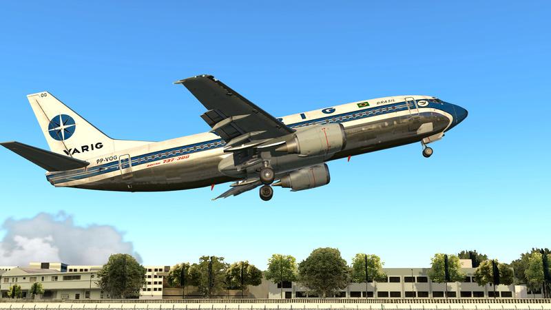 737-300 Varig decolando de SBRJ 110