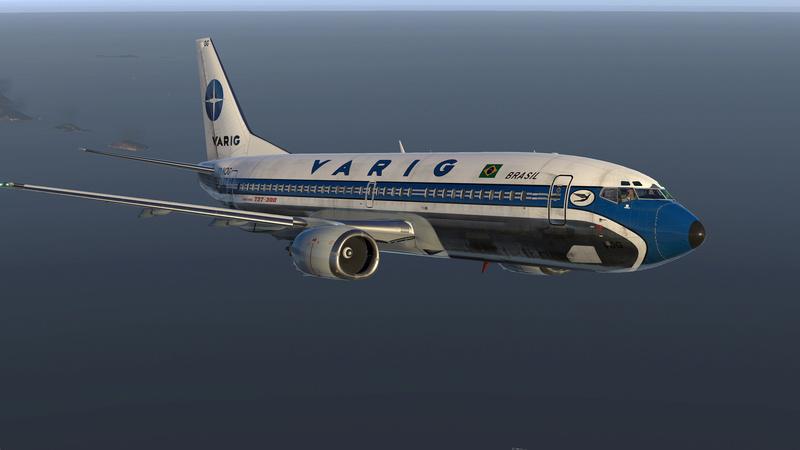 737-300 Varig decolando de SBRJ 210