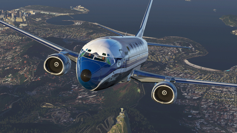 737-300 Varig decolando de SBRJ 310