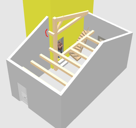 Help : Charpente (désolidarisée de la maison) pour un garage accolé Captur12