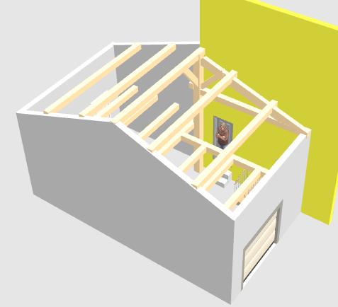 Help : Charpente (désolidarisée de la maison) pour un garage accolé Captur14