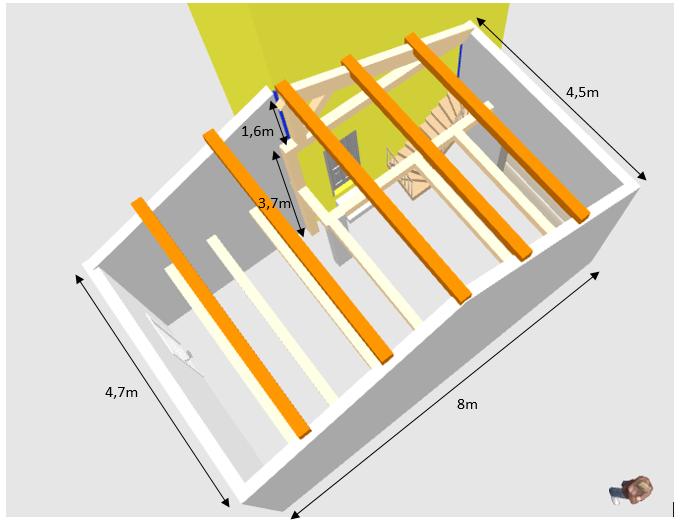 Help : Charpente (désolidarisée de la maison) pour un garage accolé Charpe11
