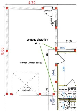 Help : Charpente (désolidarisée de la maison) pour un garage accolé Planga10