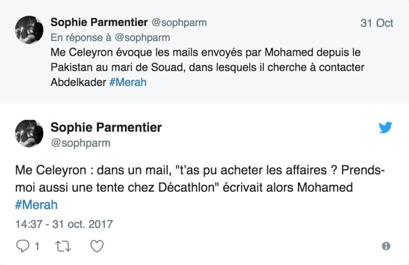 """Me Dupond-Moretti : """"J'affirme que si Abdelkader Merah est dans le box, c'est que son frère est mort"""" 114"""