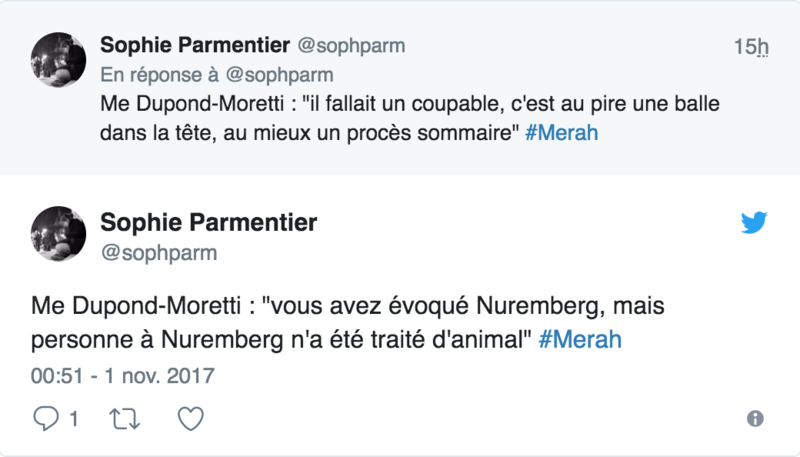 """Me Dupond-Moretti : """"J'affirme que si Abdelkader Merah est dans le box, c'est que son frère est mort"""" 116"""