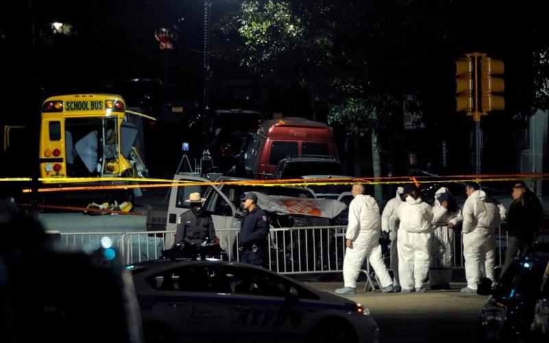 Attentat à la voiture-bélier à New York: 8 morts et 11 blessés 121