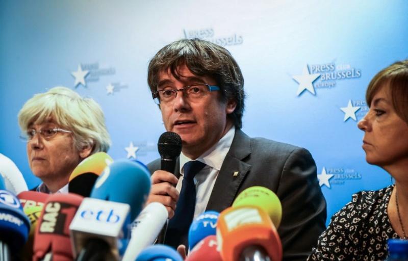 Catalogne: Carles Puigdemont «exige la libération» des huit ministres catalans incarcérés 131