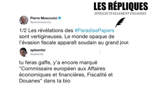 Paradise Papers, Désactivation de la page Facebook 158