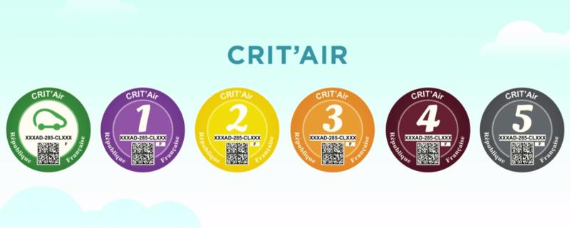 La vignette Crit'Air Critai10