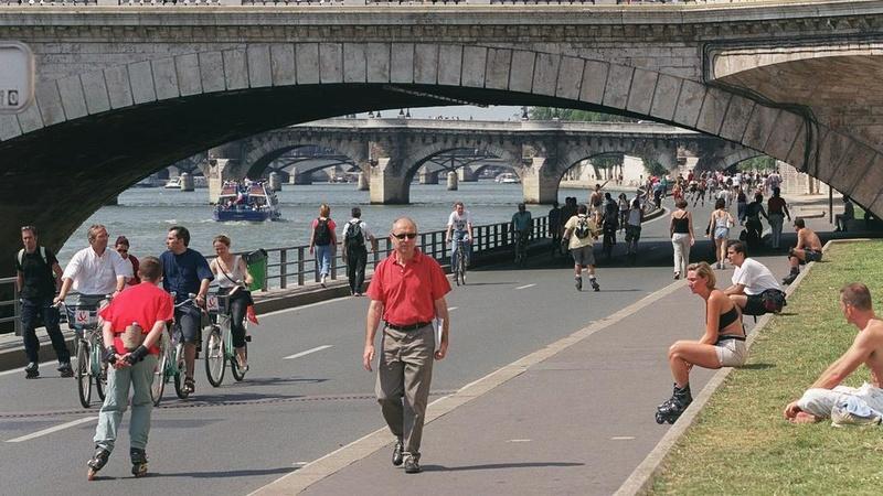 Paris : la justice annule la fermeture à la circulation des voies sur berge Voies-10