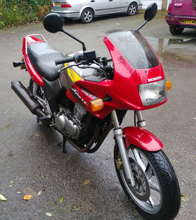 98 CB500S with 33,000 miles, MOT until March 20171117