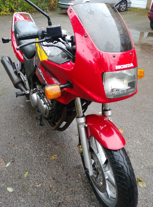 98 CB500S with 33,000 miles, MOT until March 20171120