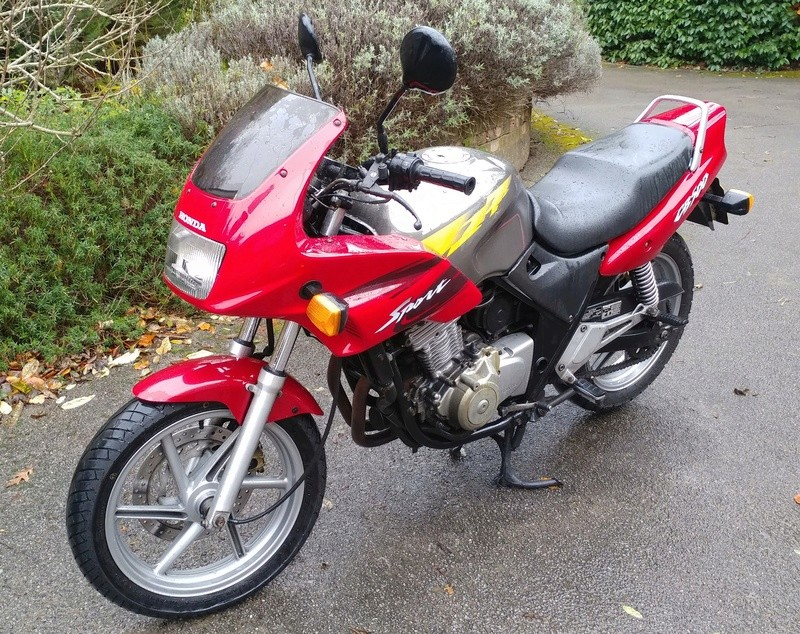 98 CB500S with 33,000 miles, MOT until March Cb500_10