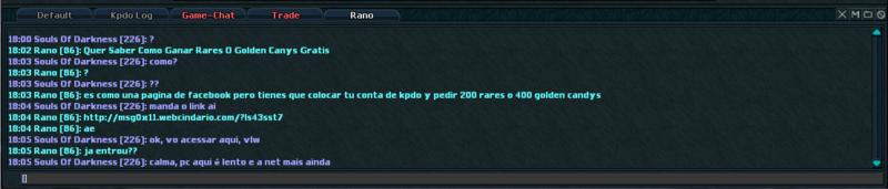 Ban; Motivo: Link Hack; Nick: Rano. Captur11