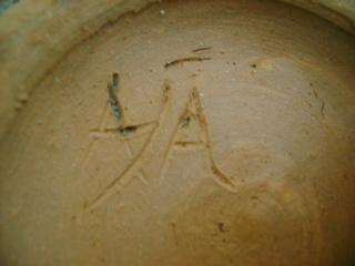 Studio bowl, maker unknown. Dsc05121
