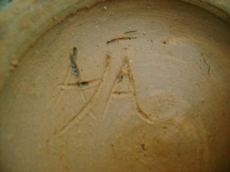 Studio pottery bowl, unknown maker, possibly Scandinavian. Dsc05124
