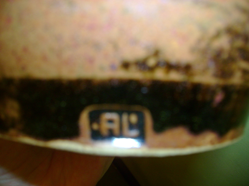 Tenmoku vase, impressed mark AL Dsc05215