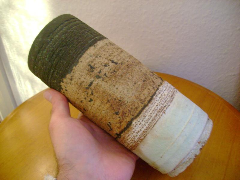 Slab built vase, Nigel Edmondson? Howard Evans?  Dsc05320