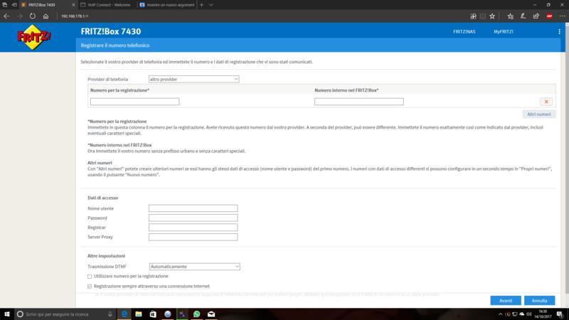 Configurazione servizio Voip Planetel su Fritz!box 7430 - Pagina 3 Screen10