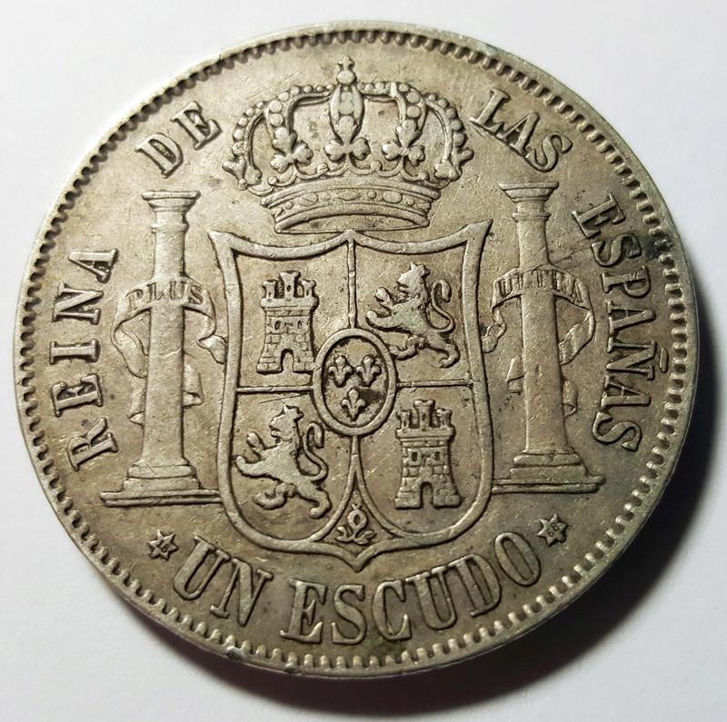 1 Escudo de Isabel II 1.868 1escud12