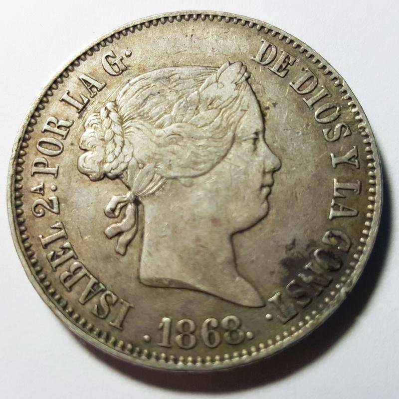1 Escudo de Isabel II 1.868 1escud13