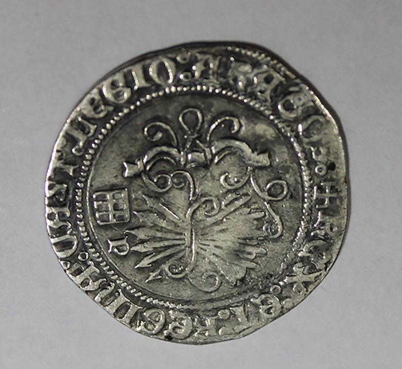 Leyendas poco frecuentes en real a nombre de los reyes católicos 1realr12