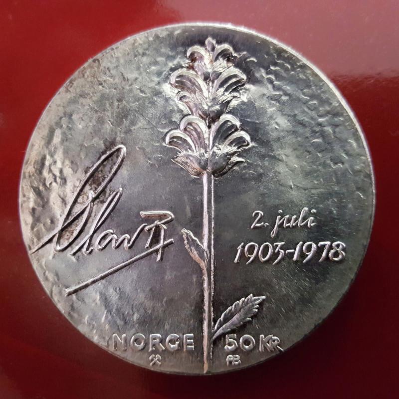 50 coronas Noruega 1.978 Olavre10
