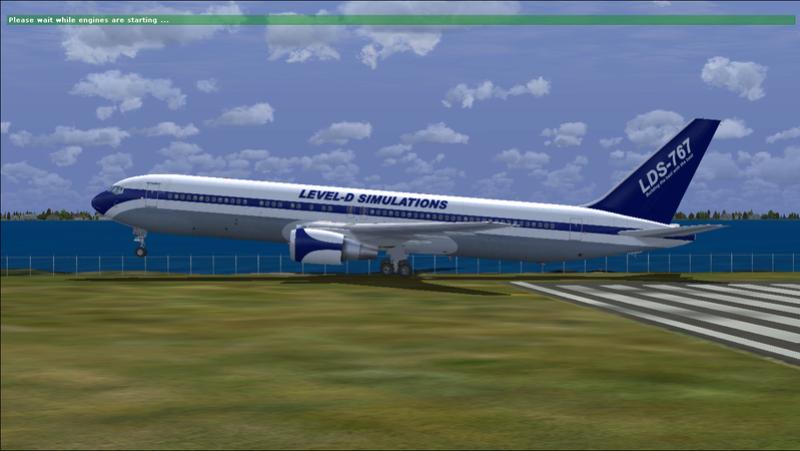 LEVEL D 767 FSX BUGADO fica rodando e crasha o FSX Fsx_2015