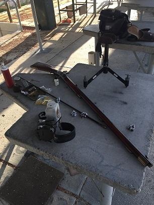My new Flintlock Pedersoli Alamo .50 caliber  Img_4914