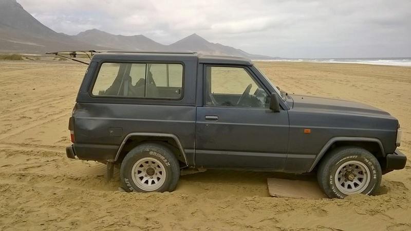 Playa di Cofete (un'amico insabbiato) Amico13