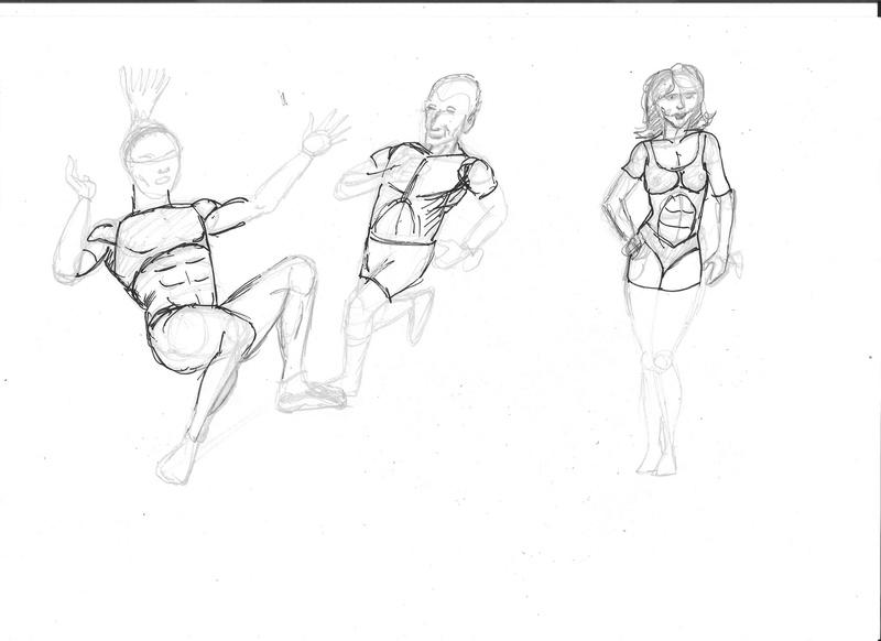 Croquis postures - Page 2 Postur10