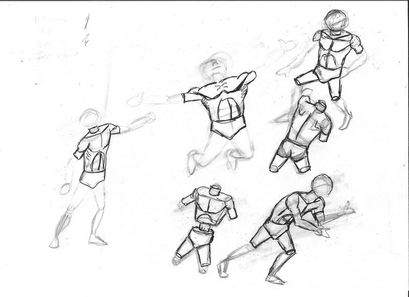 Croquis postures - Page 2 Torso10