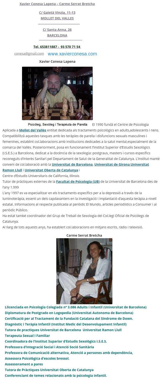 Granollers Terapia de Pareja, Consejero Matrimonial, Sexologo Forose18