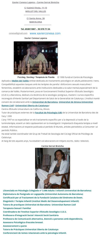 Psicólogo Terapia de Pareja Granollers, Mollet - Portal Forose19