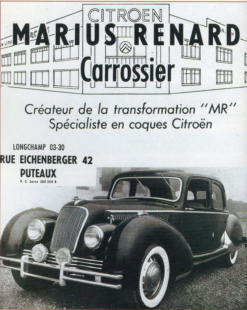 Citroën 15 Six Marius Renard 1951 00022