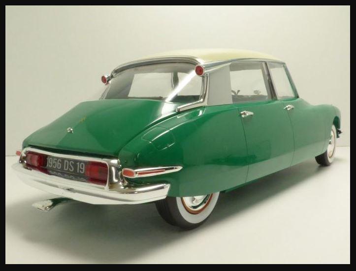 La DS 19 de 1956 au 1/12ème chez NOREV 1350