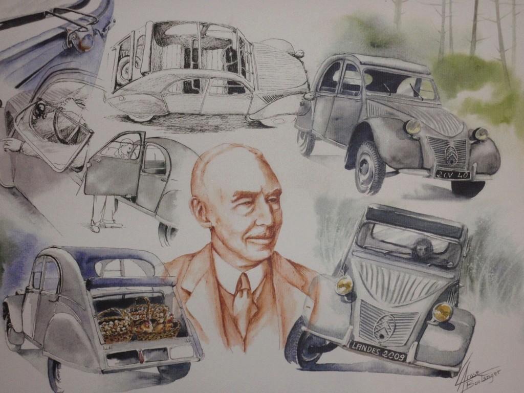 Citroën en dessin 1987