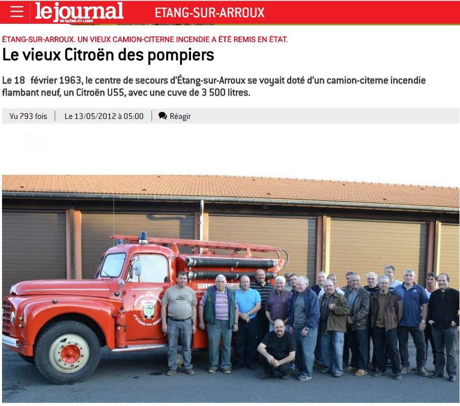 u55 pompier 266