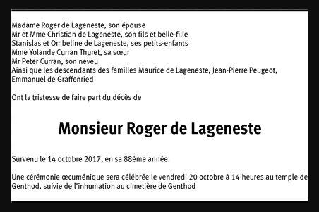 Un pilote de PEUGEOT 203 est décédé ....Roger de LAGENESTE 289