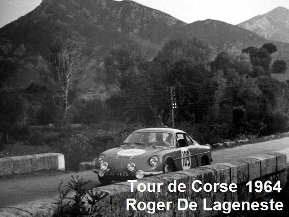 Un pilote de PEUGEOT 203 est décédé ....Roger de LAGENESTE 291